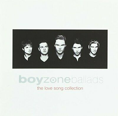 Ballads - The Love Songs Collection, Boyzone, Good,  Audio CD, FREE & Fast Deliv