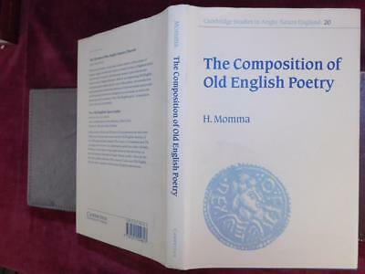 COMPOSITION of OLD ENGLISH POETRY by H.MOMMA/ANGLO-SAXON/SCARCE 1997 SIGNED