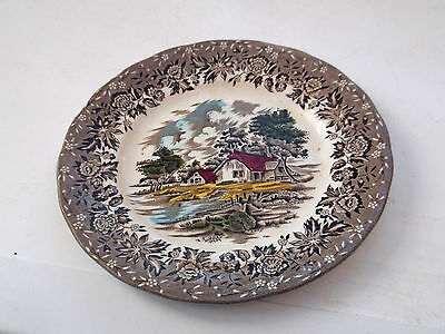 Grindley Side / Salad Plate From Country Style  7 Ins  17.5 Cms Across