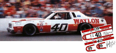 CD/_619 #711 Coo Coo Marlin   Chevy 1:18 scale DECALS