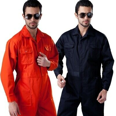 Long Sleeve Workwear Overall Coverall Welding Boiler Suit Jumpsuit Work Pants