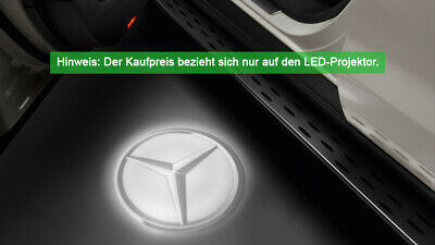 Original Mercedes-Benz LED Projektor Mercedes Stern 2-teilig