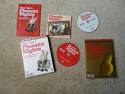 Peter Kay's Phoenix Nights - Complete First and Second Series -  Soundtrack DVD
