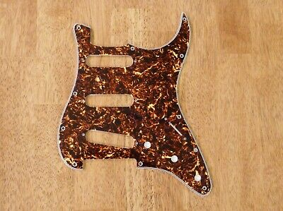 Pickguard Brown Tortoise Shell 4 Ply For Stratocaster