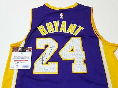 e67d589deca NBA LA Lakers No.24 Kobe Bryant Autographed Jersey with COA & Limited  Package