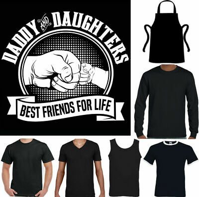 96ebdaec25 Daddy and Daughters Best Friends For Life Mens Funny Fathers Day T-Shirt  Gift