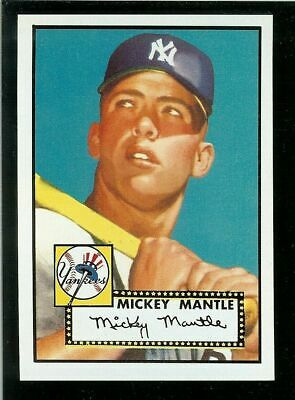 1952 Topps #311 Mickey Mantle Vintage Rc Rookie Reprint Card!