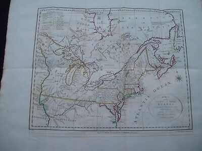 1792 Stockdale Morse Map United States Western North West Territory North States