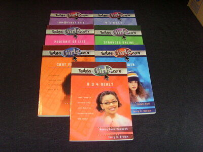 Lot 7 - Today's Girls.com - Christian Fiction - Paperback Chapter Books
