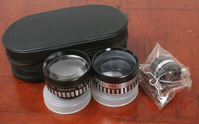 Kalcor Auxiliary Lens Set For Kodak Instamatic S-10/S-20/171412