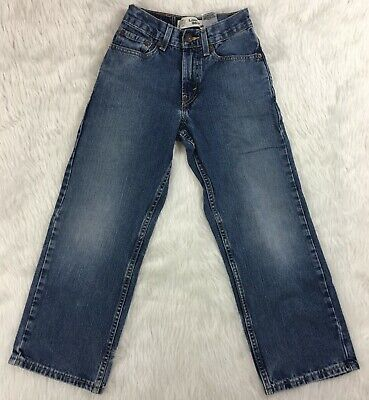 Levis 569 Boys Loose Straight 10 Slim 23x25 Denim Blue Jeans