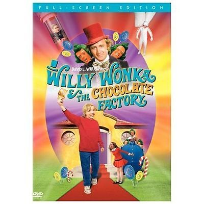 Willy Wonka & the Chocolate Factory DVD **DISC ONLY** VERY GOOD - NO CASE –