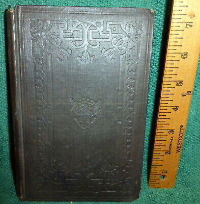 1853 1st ed BOOK- THE SECOND WAR WITH ENGLAND by J.T. HEADLEY