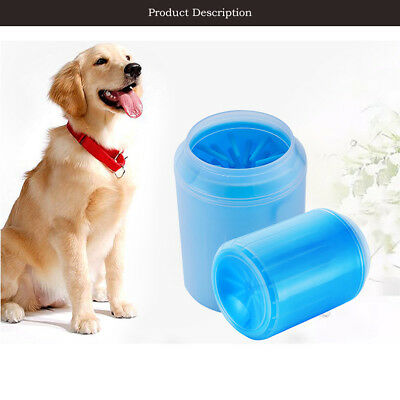 NEW Portable Pet Paw Plunger Mud Cleaner Washer Mudbuster Dog Cat Pet Paw UK