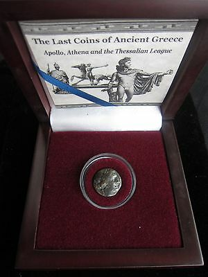 THE LAST COINS OF ANCIENT GREECE - Thessalian Confederacy Ca. 196 -146 BC 'HG'