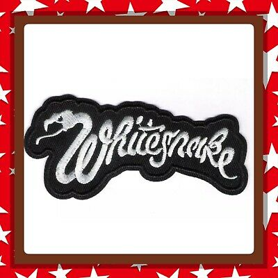 🇨🇦 Whitesnake Rock Band Embroidered Patch Sew On/stick On Cloth/new 🇨🇦