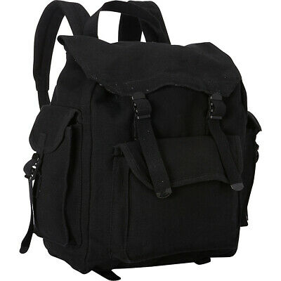 Fox Outdoor Hiker's Rucksack - Black Everyday Backpack NEW