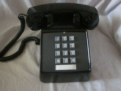 Western Electric Model 2500 Telephone Black for Hard-of-Hearing.