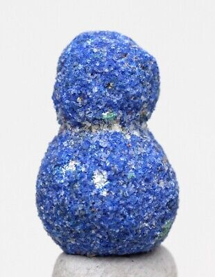 Azurite Malachite Concretion Nodule Geode Blueberry Double Ball Crystal Cluster