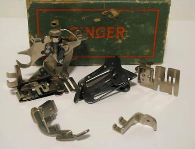 5- Singer Sewing Machine Attachments: 120598, 35931, 161127, 161127 & 121441