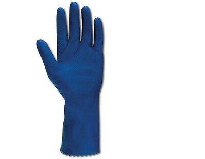 12 Pairs Ansell 87-155 VersaTouch Versa Touch Chemical Protective Latex Gloves