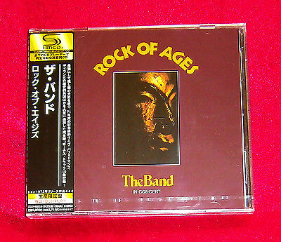 The Band Rock Of Ages SHM 2 CD JAPAN TOCP-95018-19