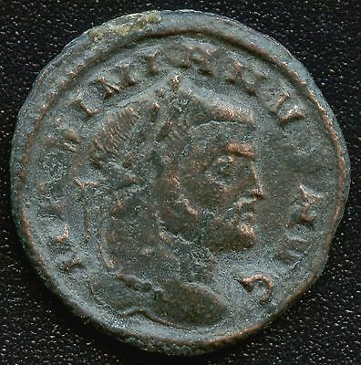 "Ancient Roman Coin "" Maximianus "" 286 - 310 A.D. REF# Like S3546 19 mm Diameter"