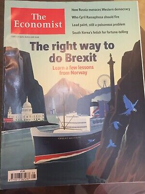 The Economist Magazine- The Right Way To Do Brexit- 24 Feb To 2 March 2018