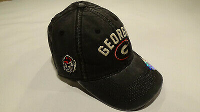 watch 26c49 c9e55 Georgia Bulldogs Washed Cotton Stretch Fit Hat. Top Of The World. MSRP  24