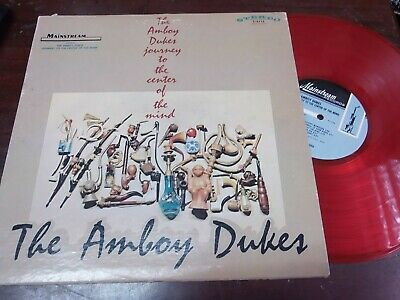"""The Amboy Dukes - Journey To The Center Of The Mind, LP 12 """" USA 2007 Red"""