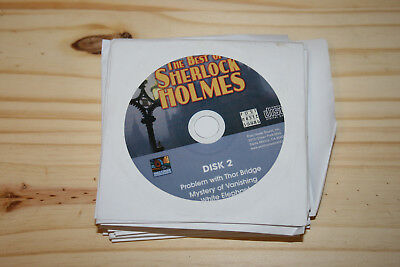 The Best of Sherlock Holmes: 50 Old Time Radio Episodes 25-Disc CD Collection