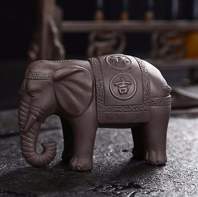 Chinese YiXing ceramics tea pet  lucky elephant KungFu tea tea pet