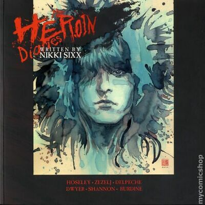 Heroin Diaries GN (Heavy Metal) By Nikki Sixx #1-1ST 2018 NM Stock Image