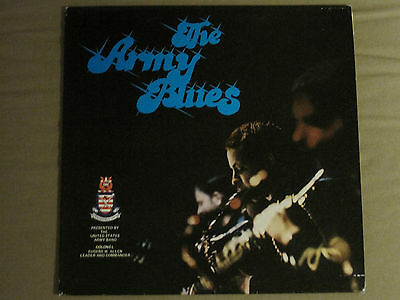 THE ARMY BLUES Lp Orig Fort Myer, Va Virginia Rare Private Jazz Funk  Samples Vg+