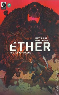 Ether The Copper Golems (Dark Horse) #4A 2018 Rubin FN Stock Image