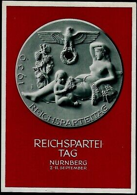 GERMANY THIRD REICH  POSTCARD Nuremberg Party Rally cover 1939