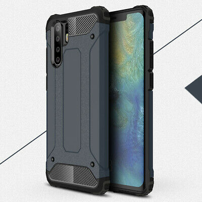 Heavy Duty Shockproof Hybrid Rubber Hard PC Case Cover For Huawei P30 Pro Lite