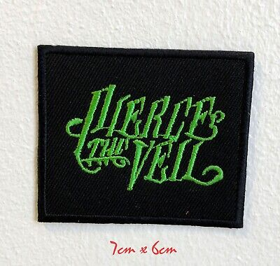 Pierce The Veil Rock Band Embroidered Iron Sew on Patch #1864