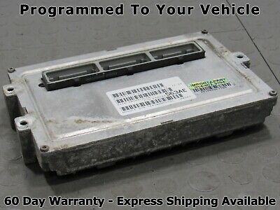 OEM ENGINE COMPUTER PROGRAMMED PLUG/&PLAY 2004 JEEP GRAND CHEROKEE 56044563AI