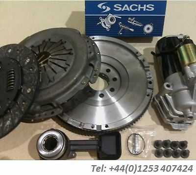 Flywheel With Clutch Kit, Csc And Starter Motor For Jaguar 2.0D X Type 5 Speed