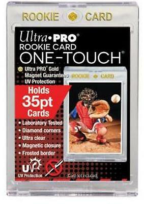 (5) Ultra Pro 35pt Rookie One-Touch Magnetic Card Holders - UV - BRAND NEW