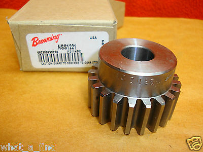 New Browning NSS1221 Spur Gear Bore NSS 1221 21 Teeth 1211465