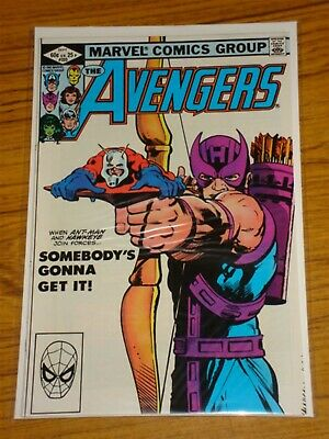 Avengers #223 Vol1 Marvel Comics Ant-Man Hawkman Scarce September 1982
