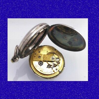Rare Silver Howard of Liverpool Hunter 17 Jewel Fusee 18S Pocket Watch 1837