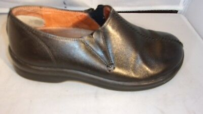 FOOTPRINTS BY BIRKENSTOCK Ladies Black Leather Loafer Size