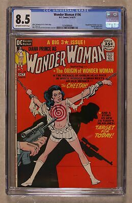 Wonder Woman (1st Series DC) #196 1971 CGC 8.5 1274589009