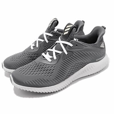 24592745e Adidas CQ1342 Men s Alphabounce EM Running Training Shoe Grey White Size 10