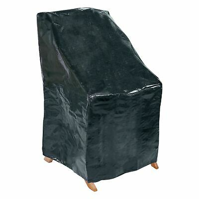 Quality Waterproof Outdoor Garden Furniture Stacking Chair Chairs Cover Black