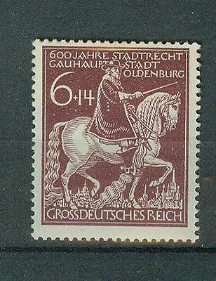 Deutsches Reich Briefmarken 1945 Oldenburg Mi 907