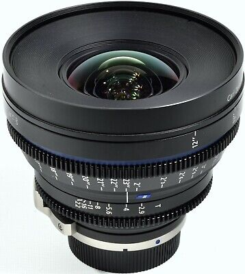 Zeiss Compact Prime Cp.2 15Mm F/2.9 T* (Feet) Lens For Canon Ef Mount